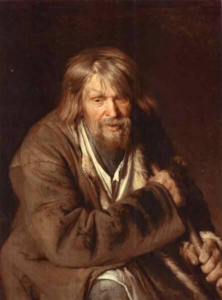 Kramskoi Portrait of an Old Peasant